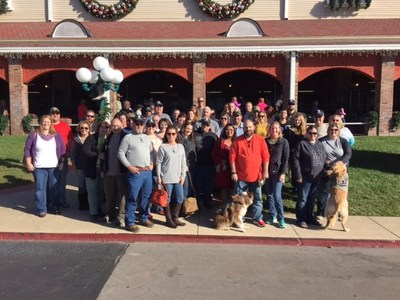 "A group of injured veterans and their spouses were treated to the ultimate ""dinner and a show"" date experience during a recent Wounded Warrior Project(R) (WWP) program event."