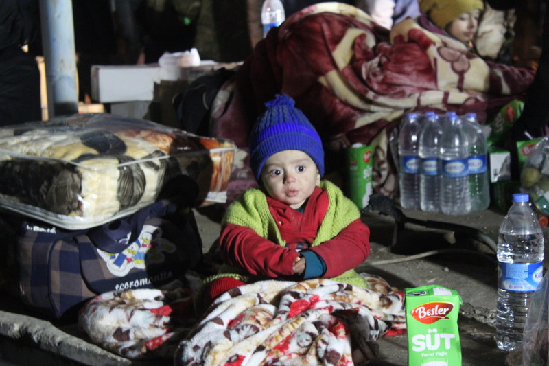 Save the Children's partners are working round the clock to help the thousands of families who have fled East Aleppo. The conditions are freezing and many people are arriving with nothing but the clothes on their backs, malnourished and exhausted after months living under siege. Credit: Syria Relief/Save the Children