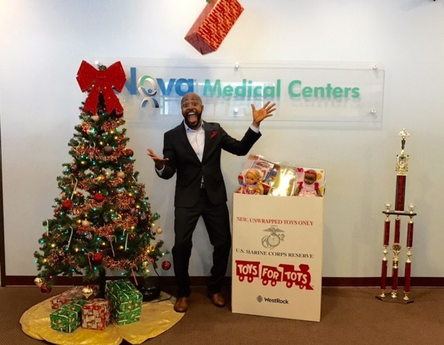 Nova Medical Centers was honored to collect over 2,000 toys for underprivileged children. Our Team Members, clients, and patients worked together to make sure thousands of children had a great holiday.