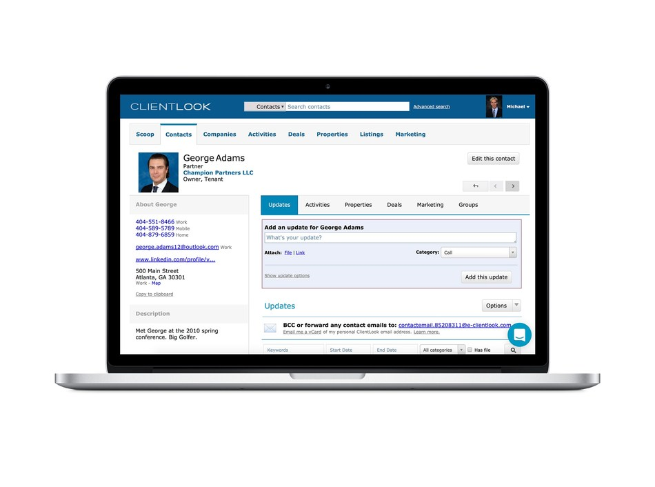 ClientLook: the CRM for CRE