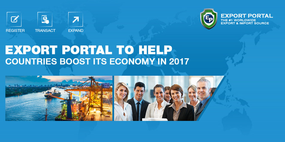 EXPORT PORTAL TO HELP COUNTRIES BOOST THEIR ECONOMIES IN 2017