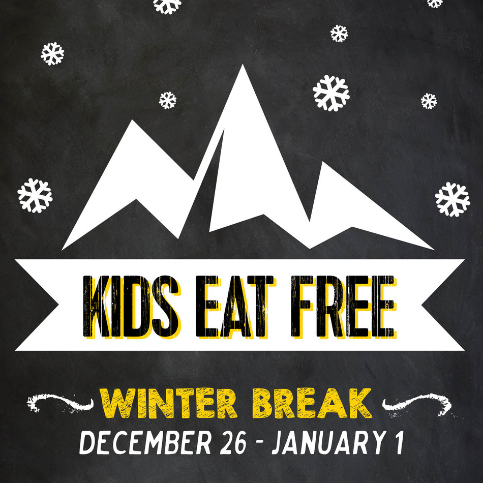 Kids Eat Free at Dickey's Barbecue Pit December 26-January 1.