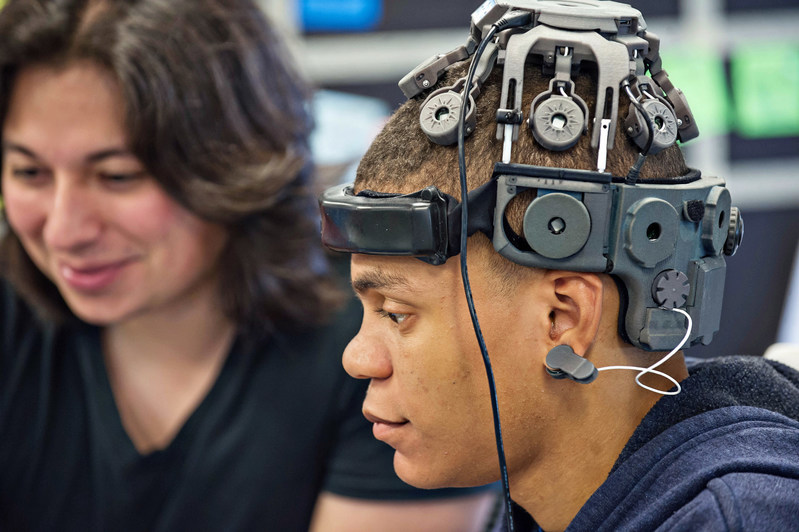 Neurable run on commercially available AR/VR hardware/headsets