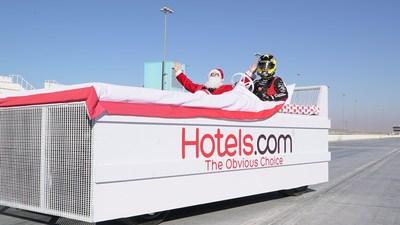 Merry Christmas from Hotels.com (PRNewsFoto/Hotels.com)