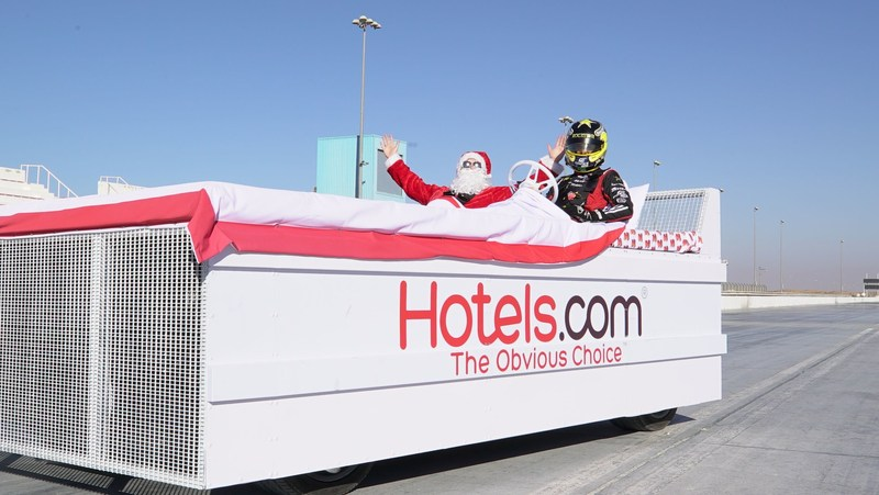 Merry Christmas from Hotels.com (PRNewsFoto/Hotels.com)