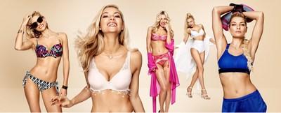 Jessica Hart brilla en la campaña de ropa interior de Triumph