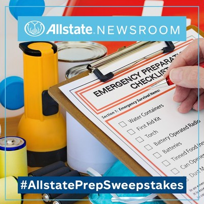 Make a New Year's resolution for safety. Tweet us your disaster preparedness plan for a chance to win the #AllstatePrepSweepstakes