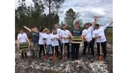 This year, Enterprise Rent-A-Car and Reforest'Action partnered to plant 50,000 trees in Landes Forest in France as part of the 50 Million Tree Pledge. (PRNewsFoto/Enterprise Holdings Foundation)