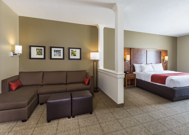 Comfort Inn Seating and Bed