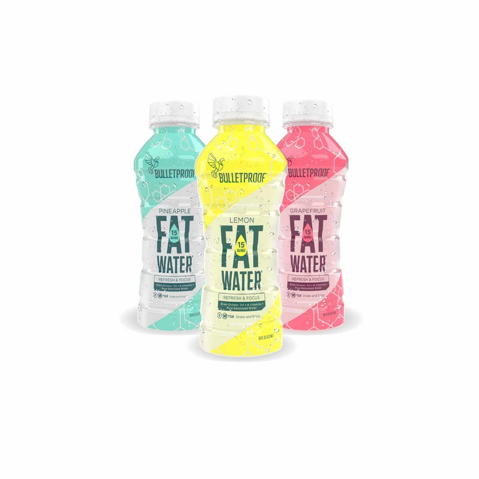 FATwater by Bulletproof in Lemon, Pineapple and Grapefruit