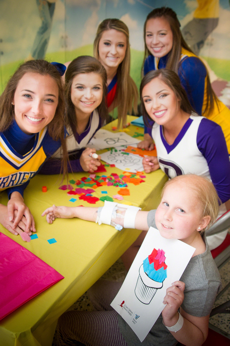 Varsity Spirit, the driving force in cheerleading and dance, embraced another year of robust fundraising and community involvement in 2016. Varsity Spirit promotes giving back and community involvement through a wide variety of programs and provides cheer and dance teams and coaches opportunities to get involved. Notably, the company's fundraising for St. Jude Children's Research Hospital(R), which is also based in Memphis, now totals more than $4 million.