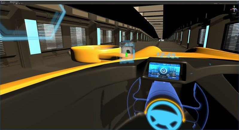 The Virtual Reality Experience takes viewers into a world of Smarter Mobility and Smarter Living.