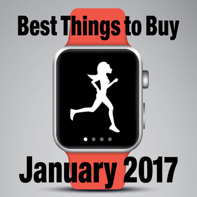 The Best Things to Buy in January 2017 including Techie Savings for New Year's Shoppers via FatWallet.com