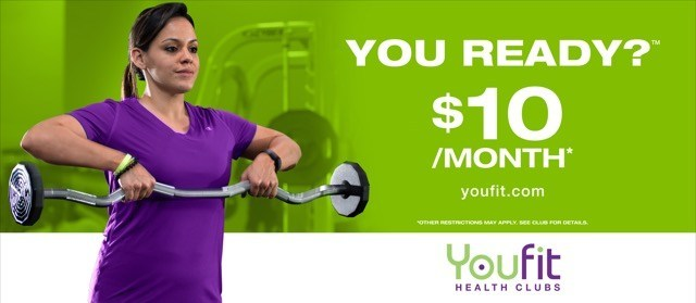 Forming a healthy lifestyle at your own pace? Youfit is for YOU and YouCoach Lisa is ready. You Ready?