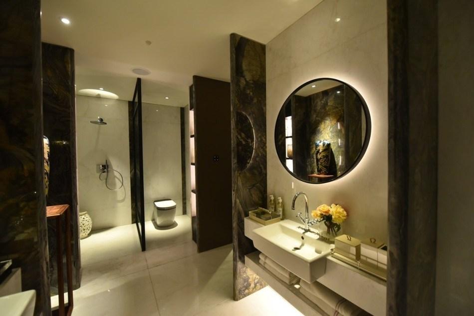 Onsite Mockup Room Designed by James K.S Tu