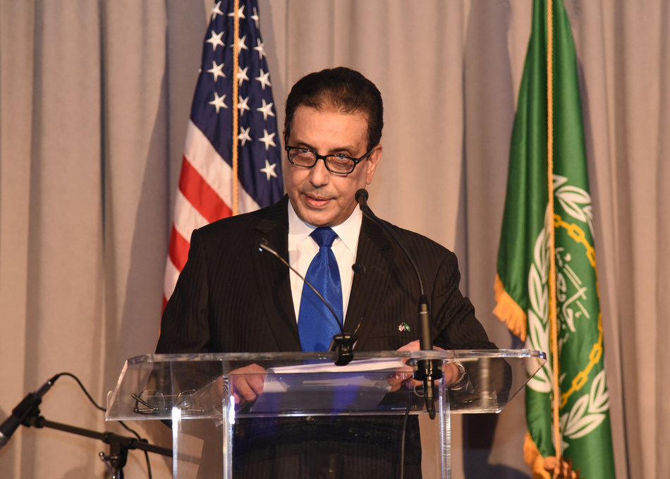 H.E. Ambassador Salah Sarhan, Chief Representative to the League of Arab States in Washington D.C. (Photo credit:  Samia AbdelWahed)