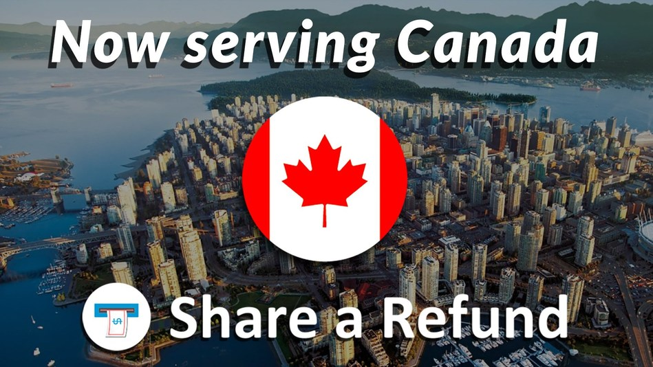 Share a Refund expanded into Canada. Businesses in Canada that ship with FedEx, DHL and UPS use the small parcel auditing services from Share a Refund to save money on shipping.