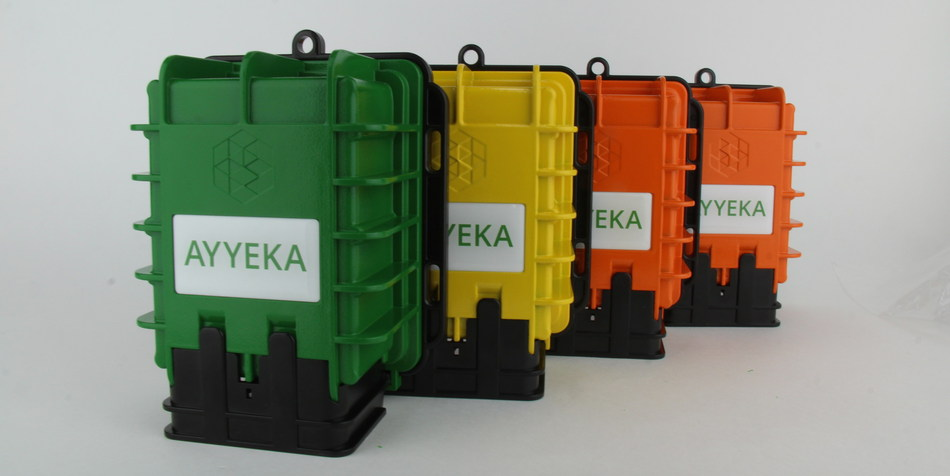 Ayyeka's Wavelet remote monitoring devices.