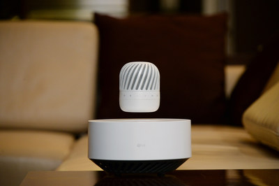 LG's Levitating Speaker Expected To Mesmerize Audiences At CES 2017