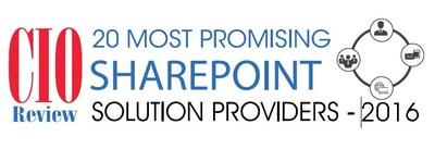 CIO Review - SharePoint Award