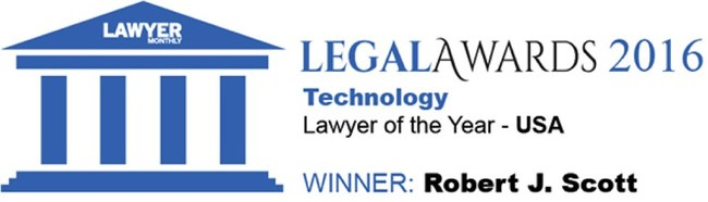 Robert J. Scott Receives Technology Lawyer of the Year Award - USA