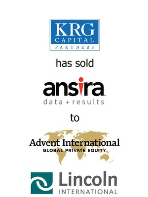 Lincoln International represents KRG Capital Partners in its sale of Ansira Partners, Inc. to Advent International Corporation