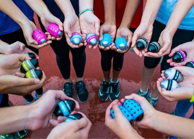 Egg Weights, a fitness and sports equipment company announced today the launch of their ergonomically designed handheld weights. Egg Weights are the World's first palm centered egg shaped weight specifically designed to work with the body's natural motion.