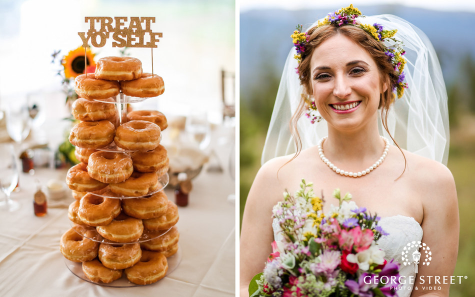 Donuts and bridal crowns are just two of the hottest wedding trends for 2017 according to the experts at George Street Photo & Video.
