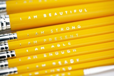 Positive Affirmations on the Brush Set