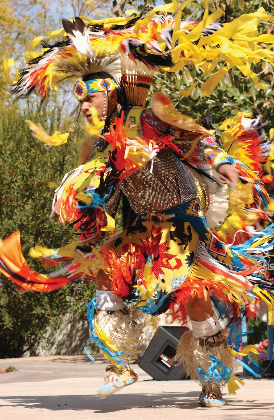 Experience the rich and varied cultures of Native American nations through storytelling, song and dance during the 15th anniversary of Native Trails.