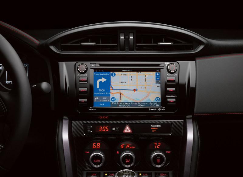 2017 Subaru BRZ adds Magellan navigation app to multimedia system