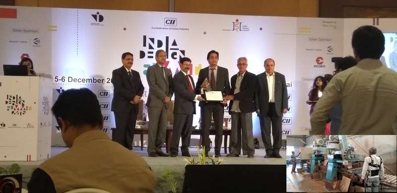 Newndra Innovations Among Top 10 Promising Startup of the Year, CII Industrial Innovations Awards 2016 (PRNewsFoto/Newndra Innovations Pvt Ltd)