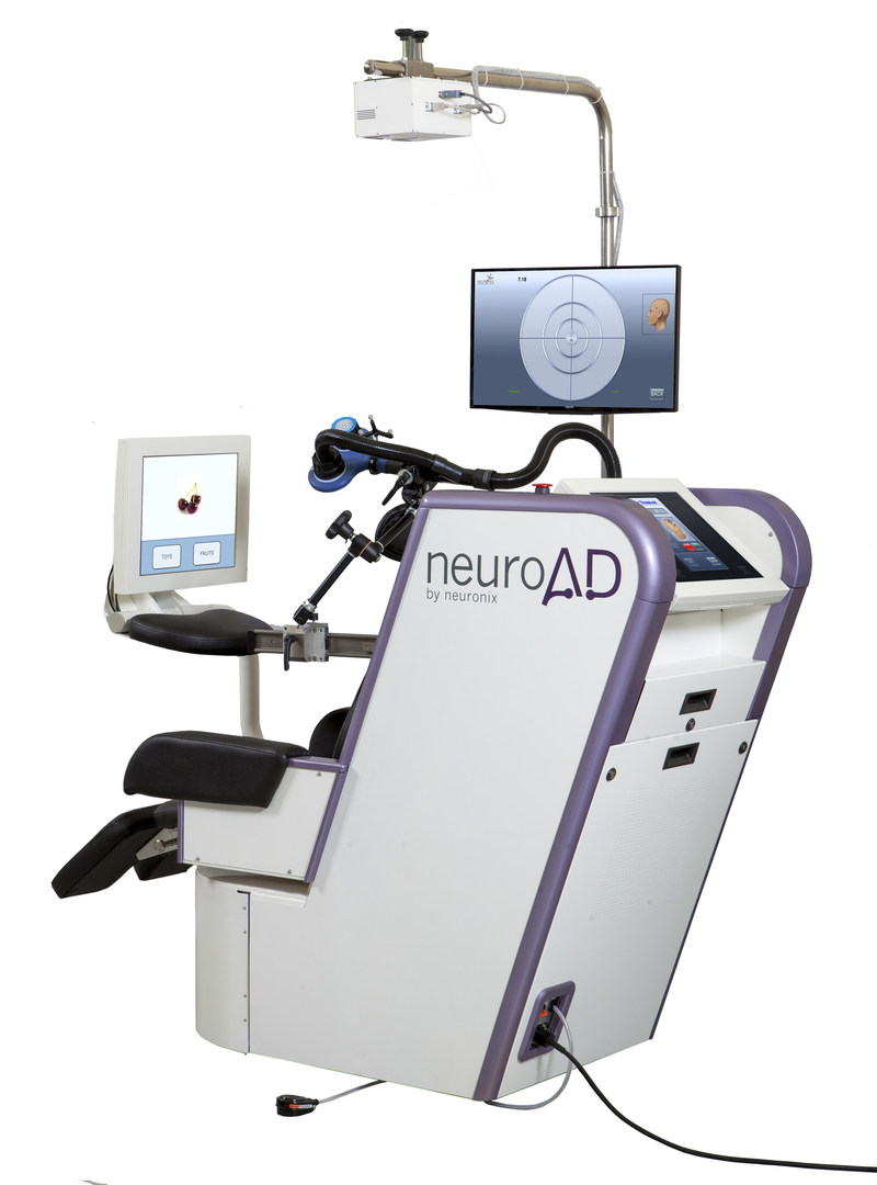 Neuronix announced positive results from its pivotal, double-blind placebo-controlled, multi-center clinical study, for the assessment of safety and efficacy of the neuroAD Therapy System, in the treatment of mild to moderate Alzheimer's disease. Neuronix has filed a U.S. FDA application seeking regulatory clearance to market neuroAD for treatment of Alzheimer's. If approved, the neuroAD Therapy System would be the first medical device ever cleared by the FDA for treatment of Alzheimer's.