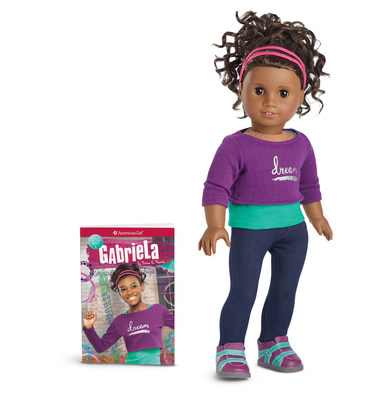 Gabriela McBride, American Girl's 2017 Girl of the Year.