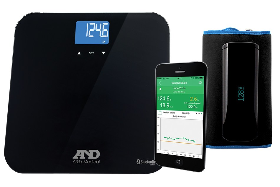 A&D Medical Unveils Wireless Smart Blood Pressure Monitor