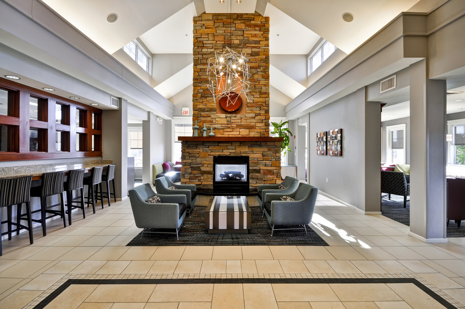 The 108-room Residence Inn St. Louis O'Fallon completed a major renovation in its guest rooms and public spaces, including the lobby.