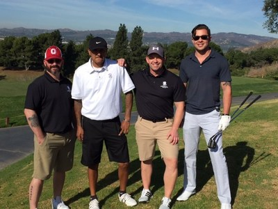 A group of wounded warriors enjoyed a day of golf in California, hosted by GOTT Entertainment and Wounded Warrior Project.