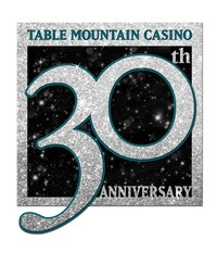 Table Mountain Casino Celebrates 30 Years of Winning in Central California (PRNewsFoto/Table Mountain Casino)