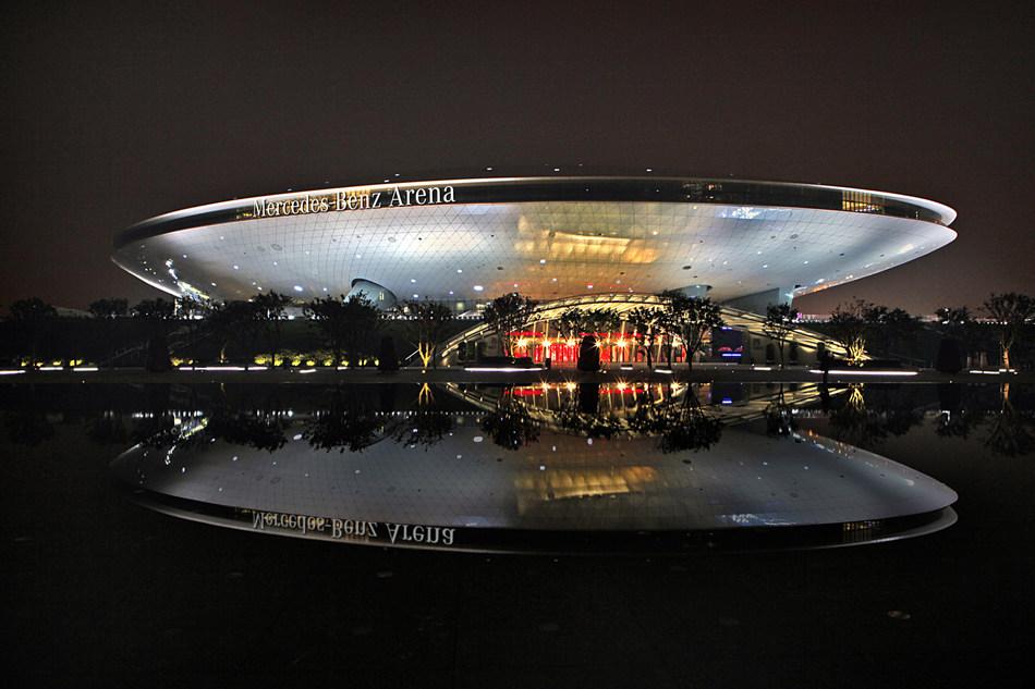AEG's Mercedes-Benz Arena in Shanghai, China