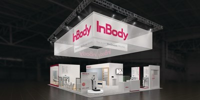 The 2017 InBody CES Booth at the Las Vegas Convention Center (booth #31653)