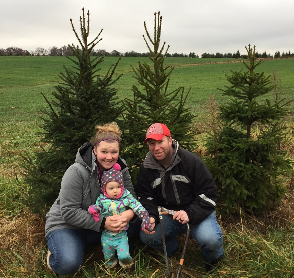 Wounded Warrior Project took families to an Ohio farm to pick the perfect Christmas tree.