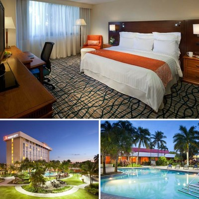 Miami Airport Marriott is offering up to 20 percent off of room rates when guests book online from Dec. 15, 2016 to Feb. 28, 2017 for a minimum two-night stay on dates from Dec. 20, 2016 through April 30, 2017. For information, visit www.marriott.com/MIAAP or call 1-305-649-5000.