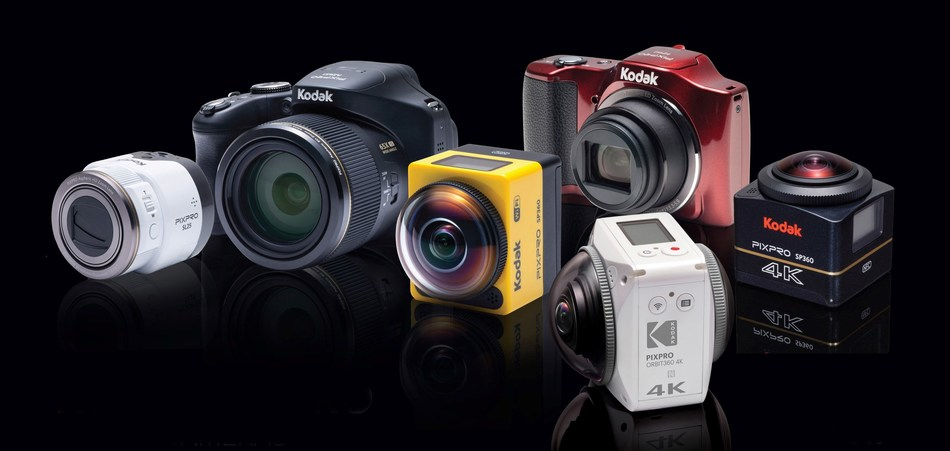 KODAK PIXPRO DIGITAL CAMERA AND DEVICES LINE UP ANNOUNCED WITH WORLDWIDE EXPANSION OF ADDITIONAL 360° VR CAMERA OFFERINGS IN 2017