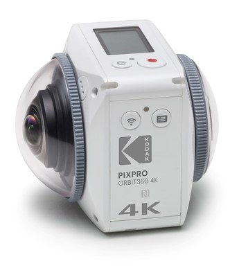 Capture and share 360 interactive experiences on-the-go with the KODAK PIXPRO Orbit360 4K VR Camera!