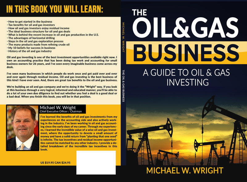 Michael W. Wright's debut title
