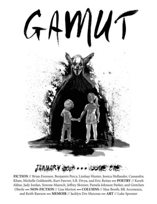 The Cover From January 2017's Issue of Gamut
