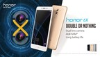 Honor 6X - Double or Nothing (PRNewsFoto/Honor)
