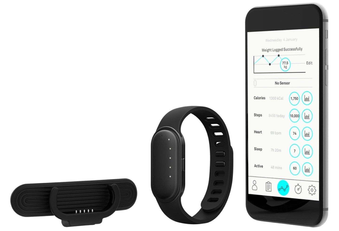 The new Onitor Track, a weight loss program and wearable for the age of data.