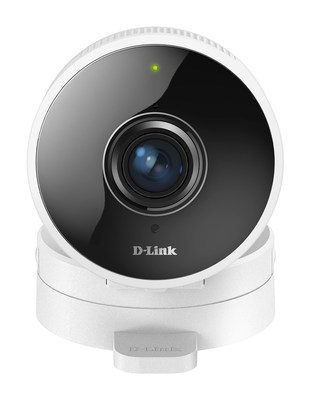 D-Link's HD 180 Degree Wi-Fi Camera (DCS-8100LH) offers 180 degree panoramic view so users can view more with less.