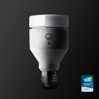 LIFX + Wins 2017 CES Honoree Award in Smart Home Category